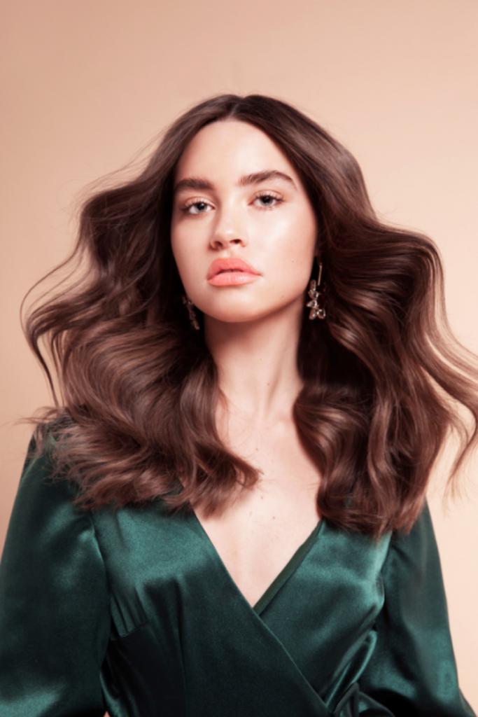 Hairdresser in Adelaide - Brunette styling